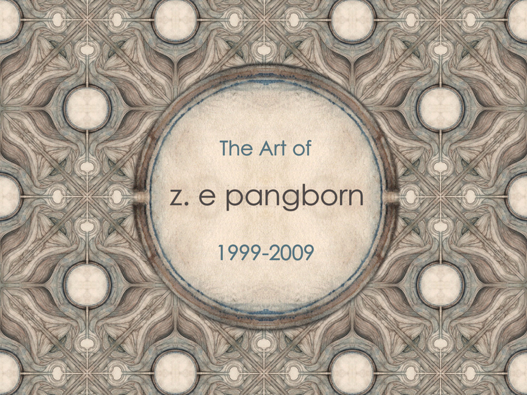The art of Z. E Pangborn 1999 - 2009's video poster