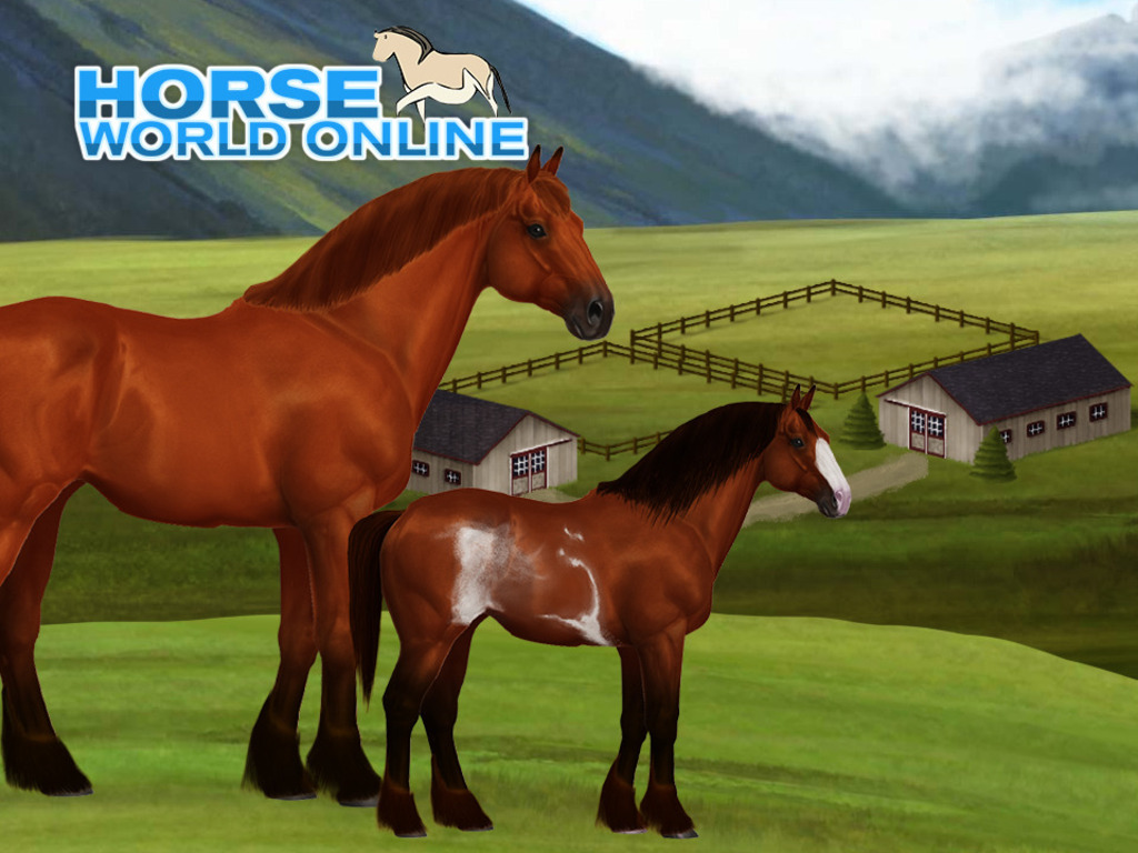 Horse World Online - A horse breeding game's video poster