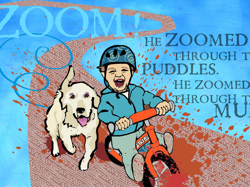 Zoom! The story of a boy and his balance bike's video poster