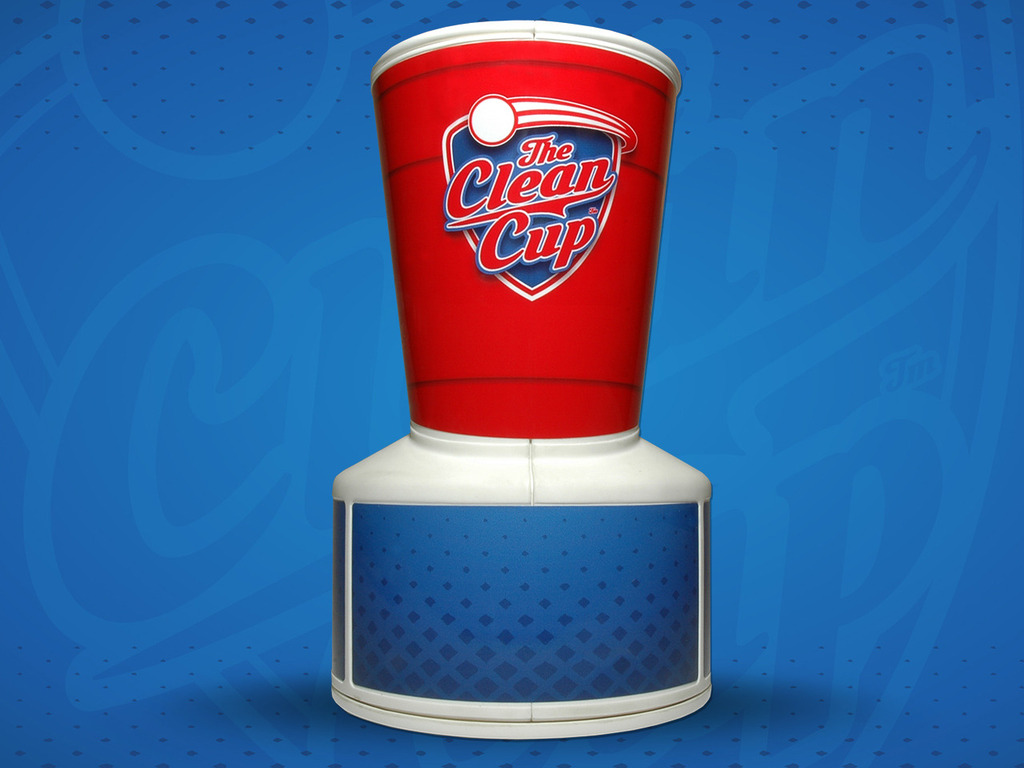 The Clean Cup - Portable Beer Pong Ball Washer's video poster