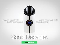 Sonic Decanter - Makes Every Wine Better!
