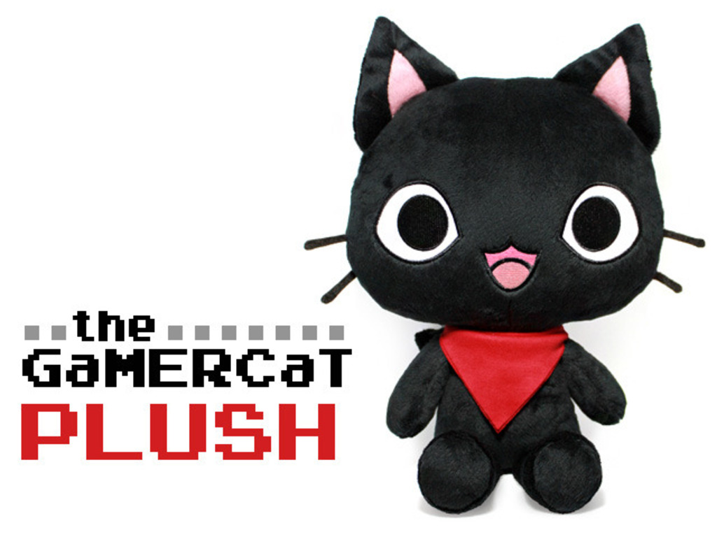 The GaMERCaT Plush's video poster