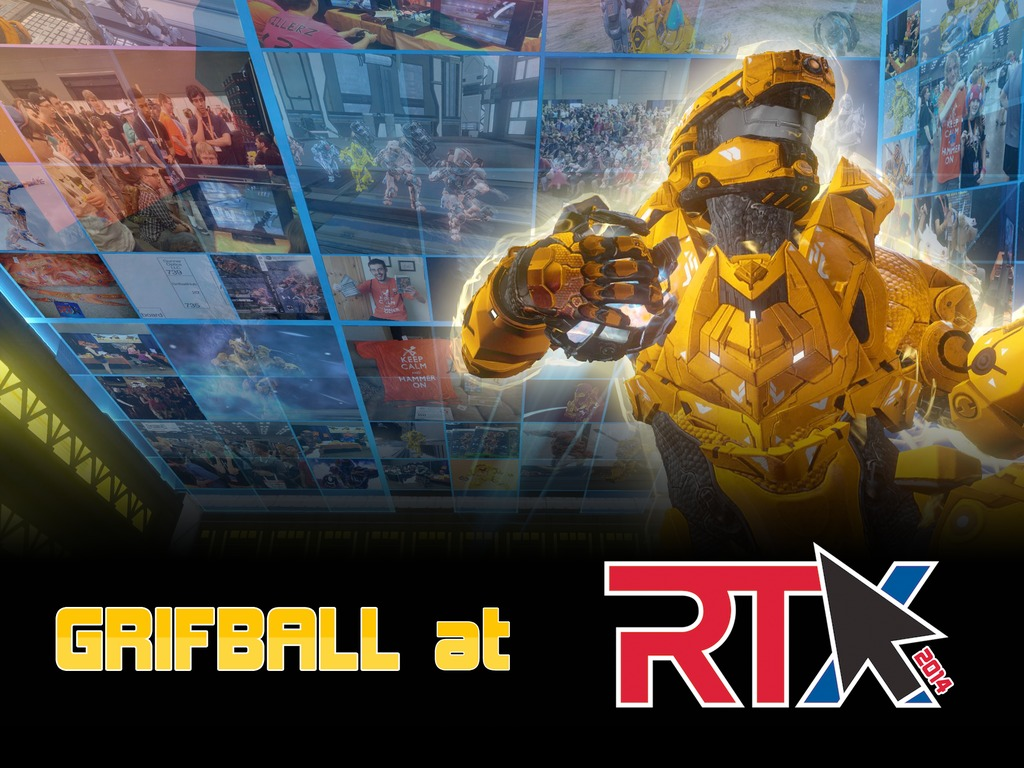 A Bigger, Better Grifball Booth at RTX 2014's video poster
