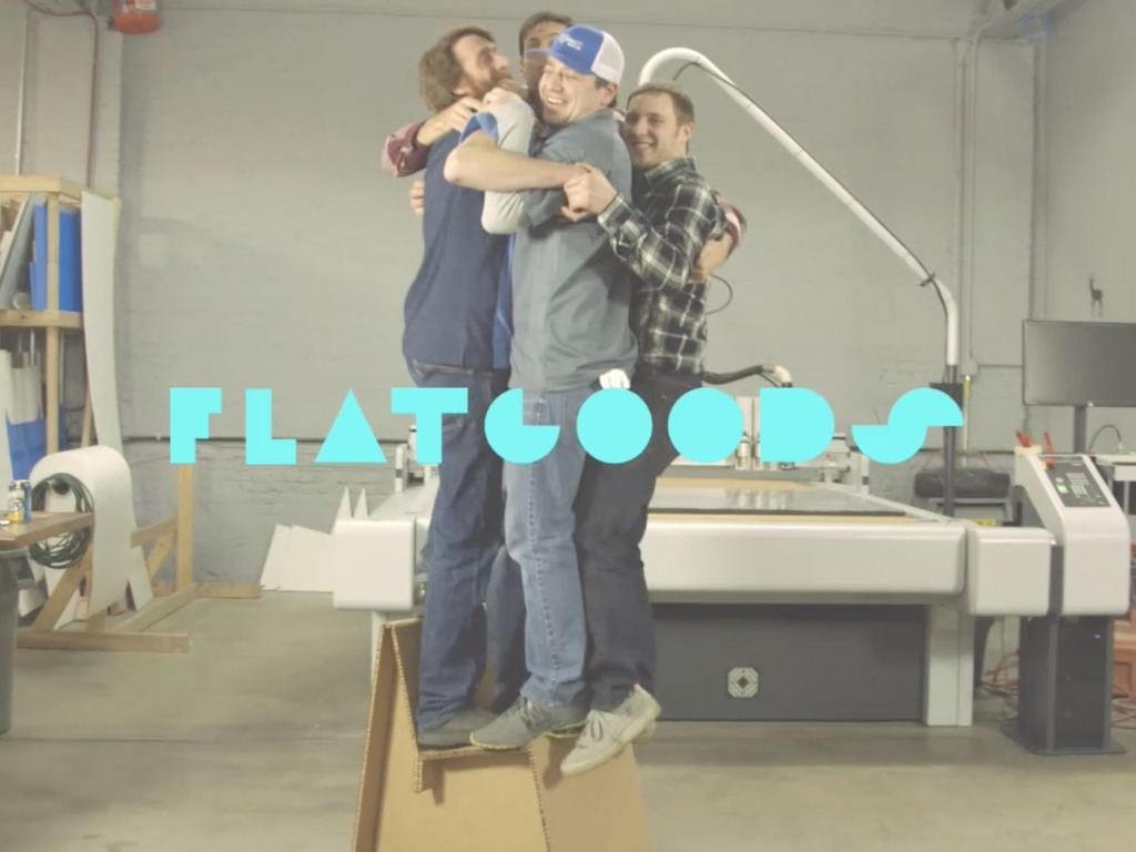 FLATGOODS - Custom Printable Cardboard Furniture. (Canceled)'s video poster