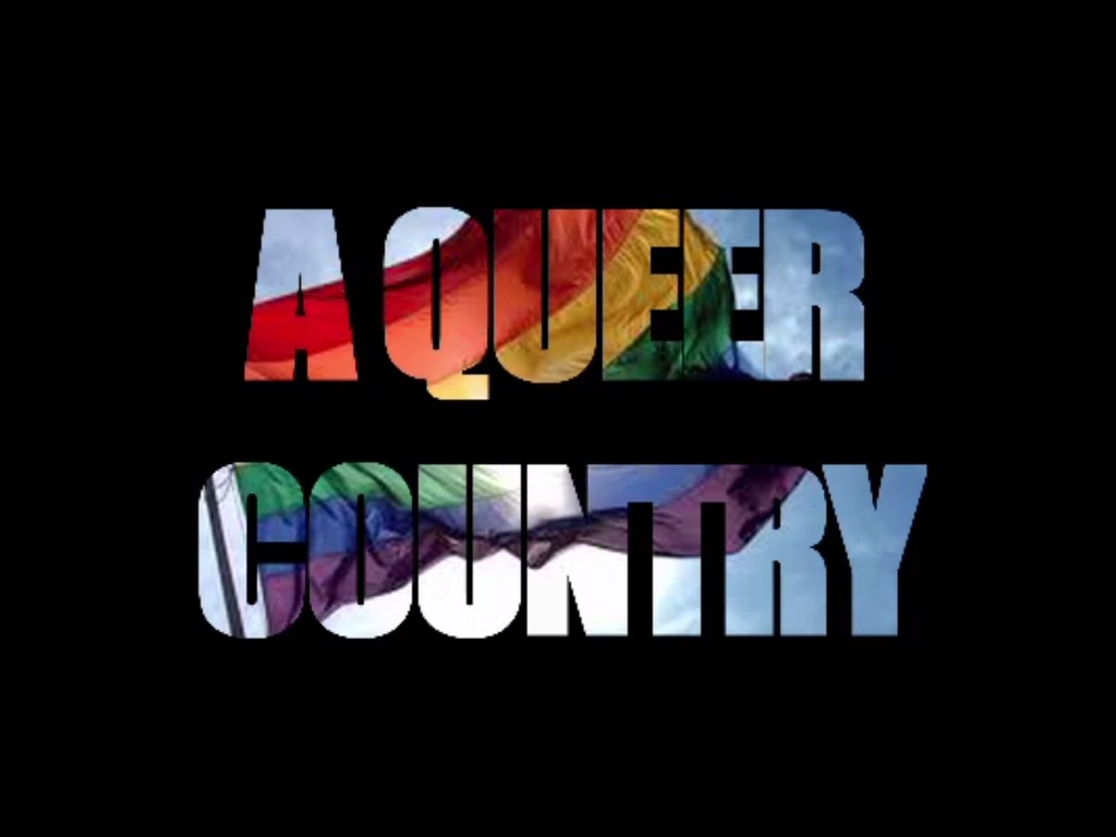 A QUEER COUNTRY's video poster
