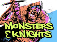 Monsters & Knights card game