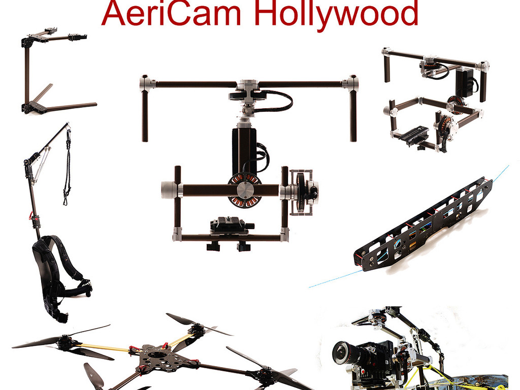 AeriCam Hollywood - 3 Axis Camera Stabilization System's video poster