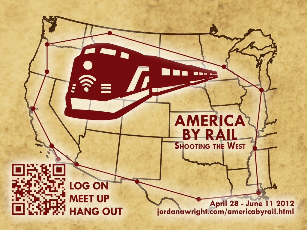 America By Rail - Shooting the West's video poster