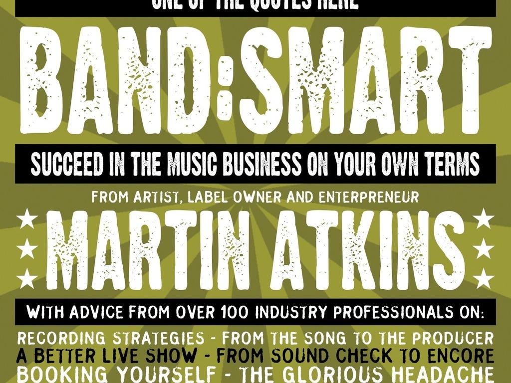 Martin Atkins New Book - Band:Smart's video poster