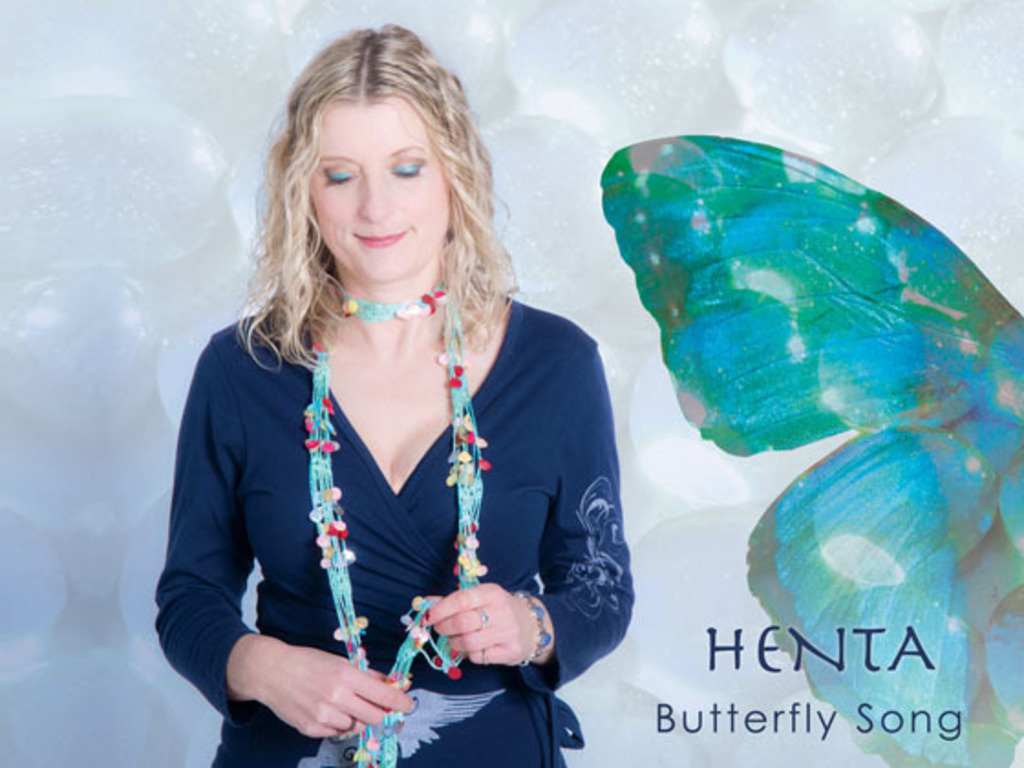 Henta's new album Butterfly Song's video poster