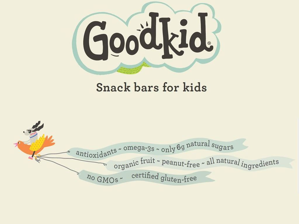 Healthy, low sugar snack bars for kids, by Goodkid Foods's video poster