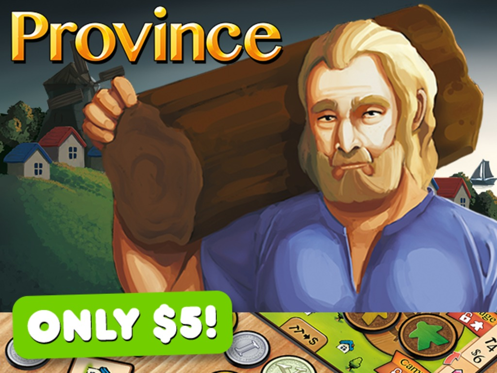 Province - A Competitive Building Microgame for 2 Players's video poster