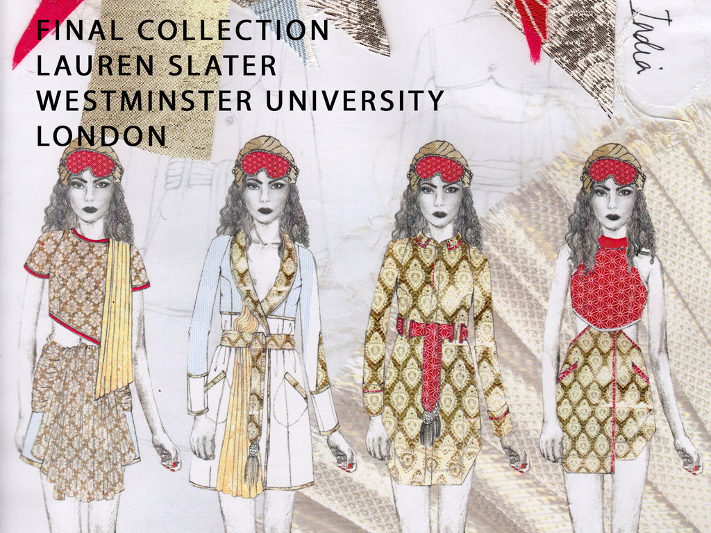 A Passage To India // Fashion Design Final Collection's video poster