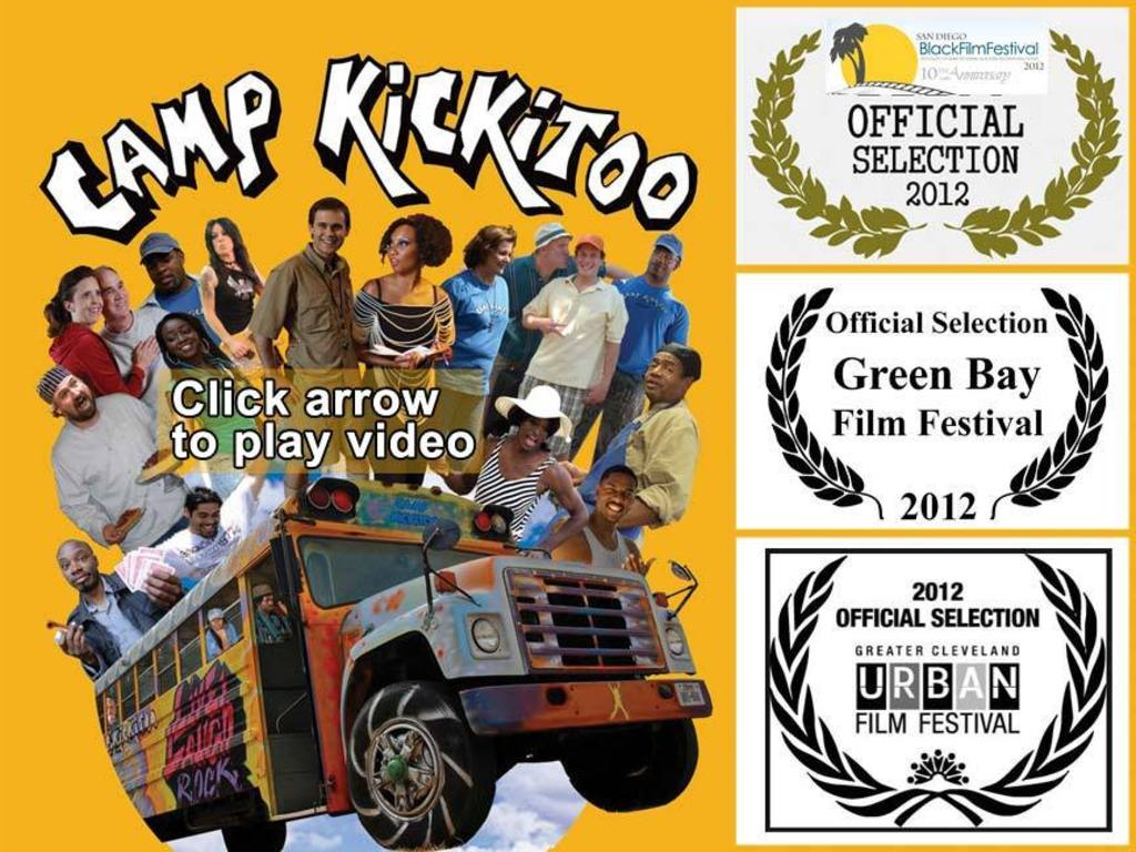 Camp Kickitoo: Getting the movie out to the world's video poster