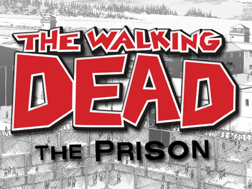 """""""The Walking Dead"""" The Prison - Board Game (Canceled)'s video poster"""