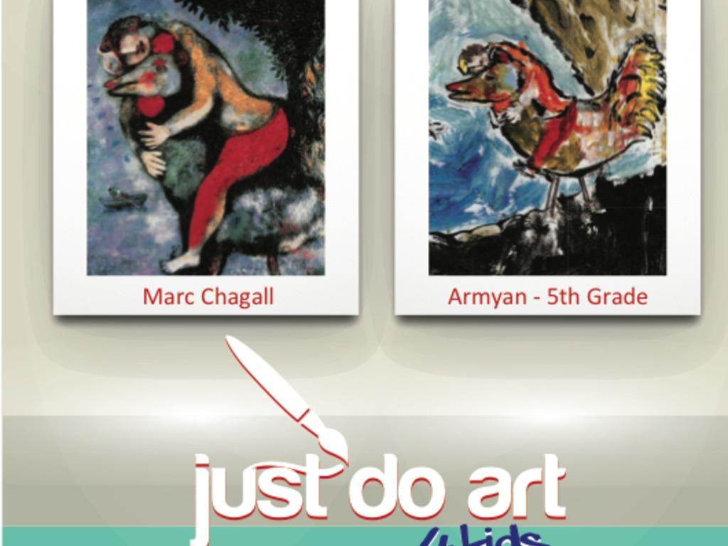 just do art ~ The Art of Teaching Art's video poster