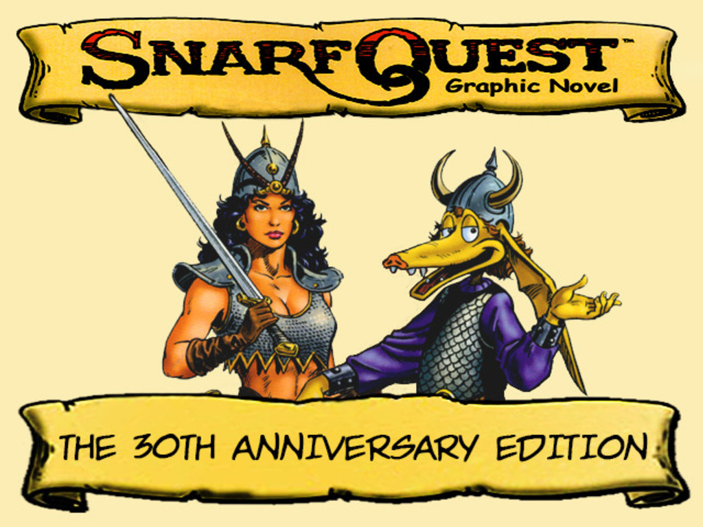 SnarfQuest 30th Anniversary Remastered Graphic Novel's video poster