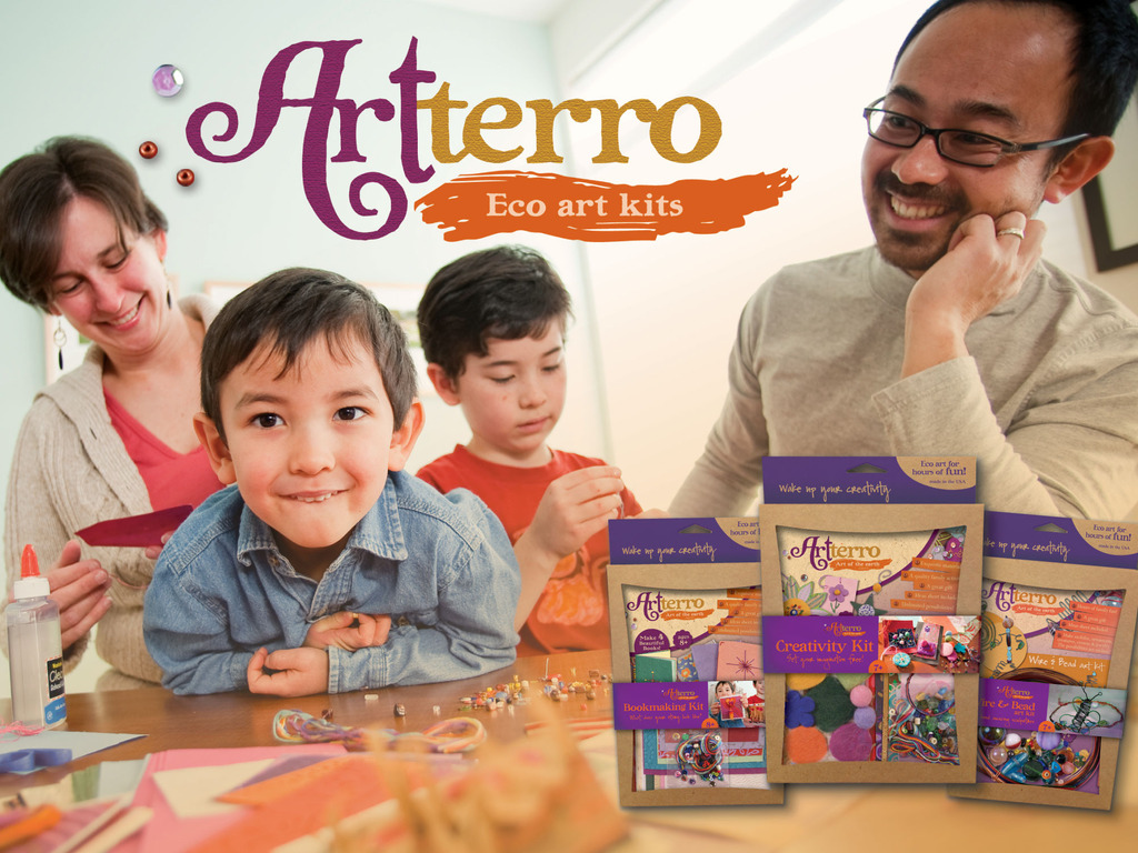 Artterro Eco Art Kits's video poster