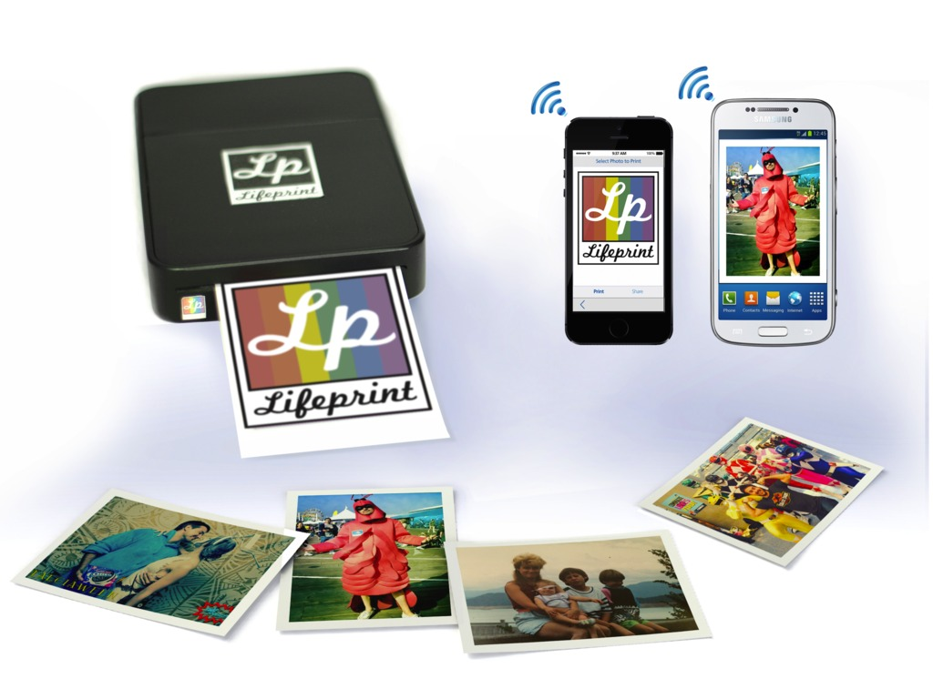 LifePrint: Wifi Photo Printer for iPhone/Android & Instagram's video poster