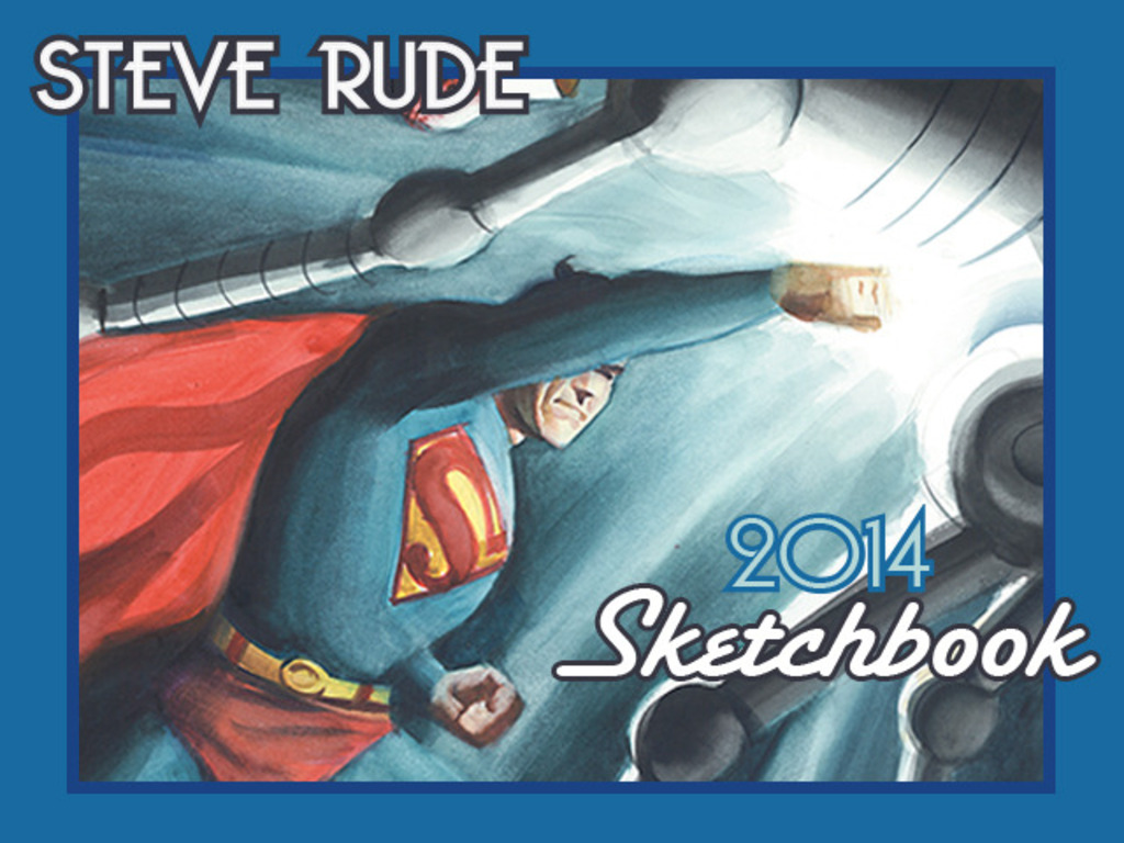 2014 Steve Rude the Dude Sketchbook's video poster