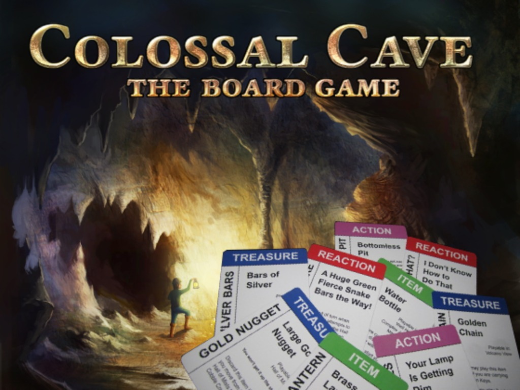 Colossal Cave: The Board Game's video poster