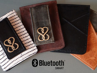 Smart Wallet: Locator & Charger a Fashionable Tech Accessory