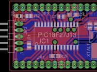 LPLC - Low Power, Low Cost PIC18 Development Board