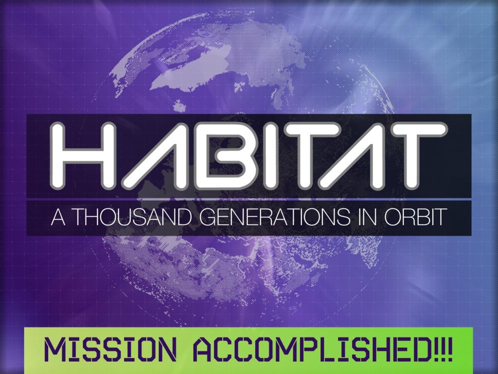 HABITAT: A Thousand Generations in Orbit's video poster