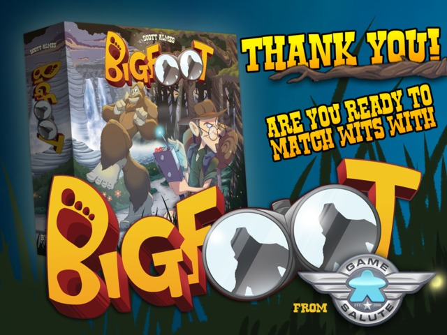 Update 1: Welcome to Bigfoot! · Bigfoot