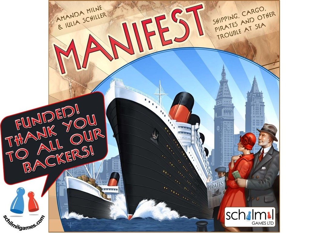 MANIFEST:  The board game's video poster