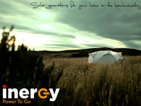 Inergy - Revolutionary Solar Generators