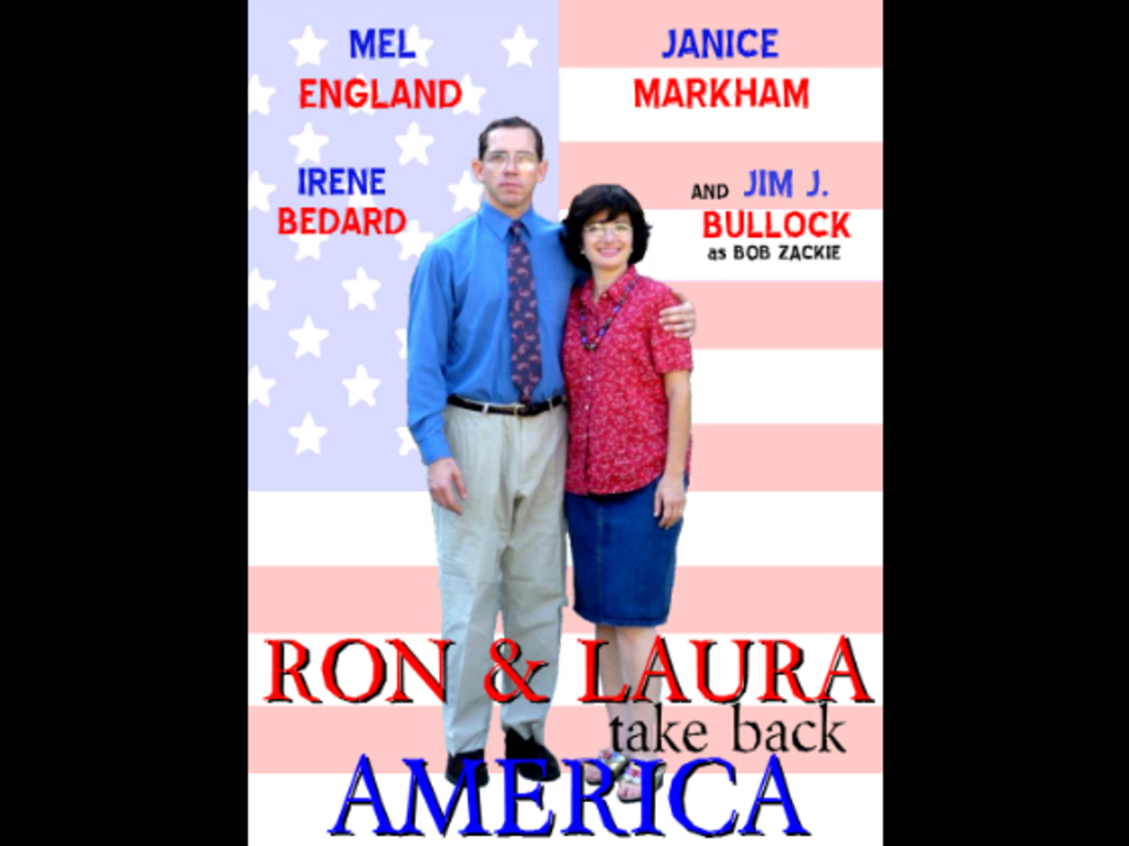 Ron and Laura Take Back America's video poster