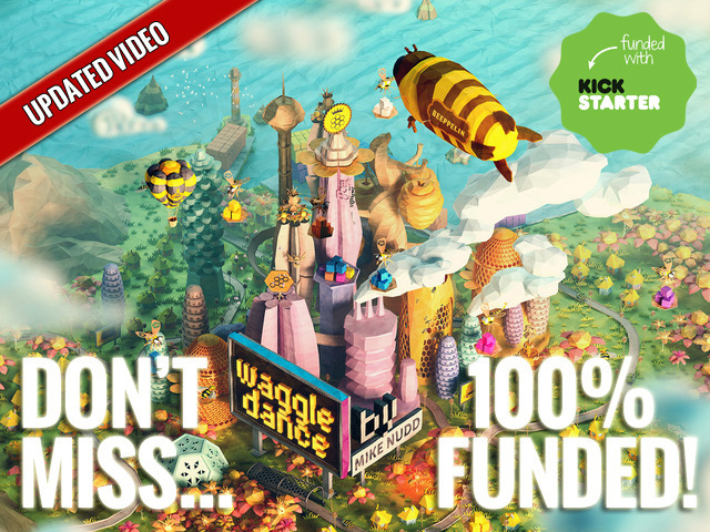 Waggle Dance: a strategic board game of dice, bees and honey