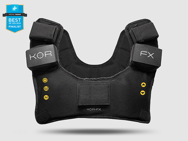 KOR FX Gaming Vest 4DFX Haptic Feedback System by KOR FX Immerz Inc Kickstarter