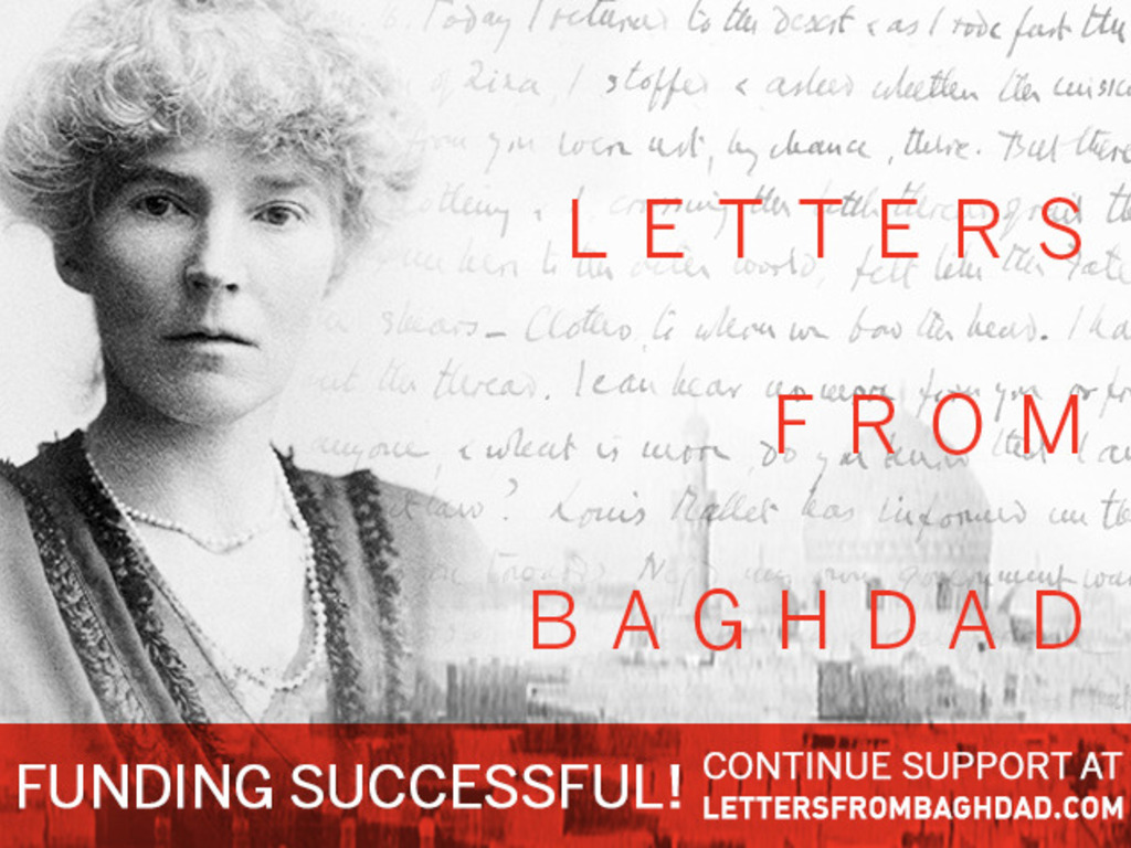 Letters From Baghdad:  A Film about Gertrude Bell's video poster