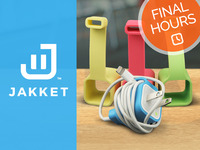 JAKKET - iPhone, iPad, iPod Cable Management Gear