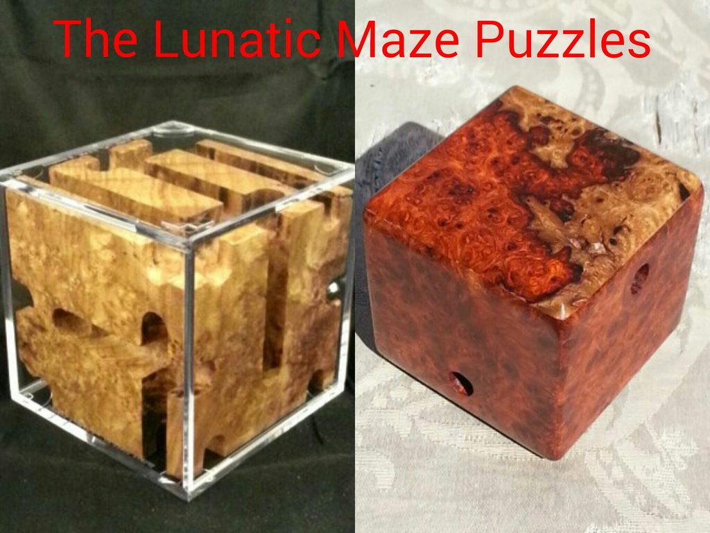 The Lunatic - Maze Puzzles Designed and Created's video poster