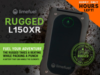 External USB Battery Pack- Limefuel IP66 Rugged 15000mAh