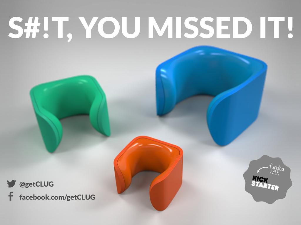 CLUG - the world's smallest bike rack's video poster