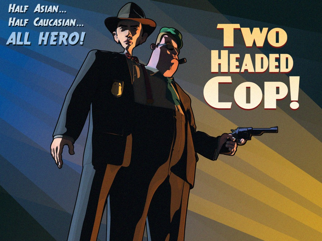 Two Headed Cop - The Animated Film Noir's video poster