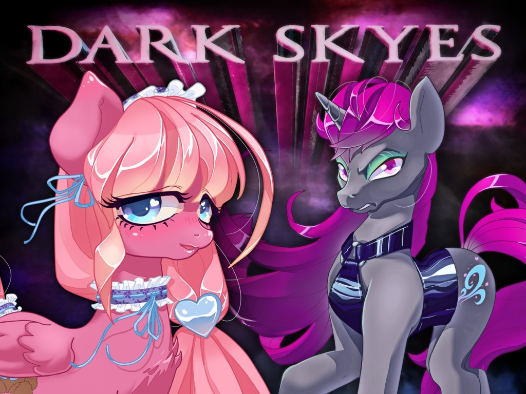 Dark Skyes -- an EPIC brony dating sim (Canceled)'s video poster
