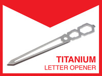 Tiletto - The Titanium Letter Opener!