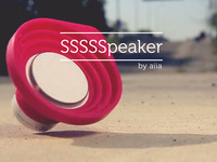 Portable Bluetooth SSSSSpeaker: Sweet Sounds of Silicone