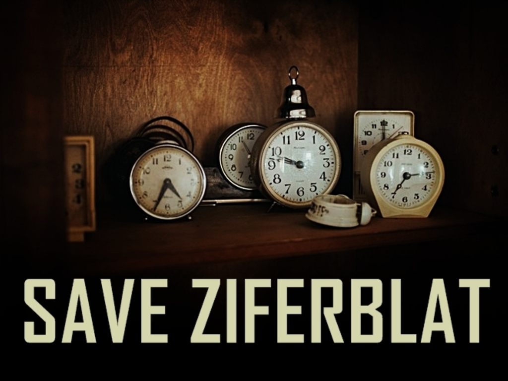 Save Ziferblat in London's video poster