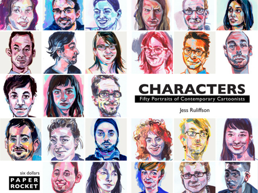 Characters: Fifty Portraits of Contemporary Cartoonists's video poster