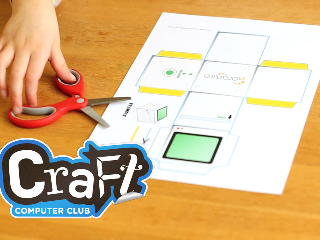 Craft Computer Club: a crafty way to inspire little coders's video poster