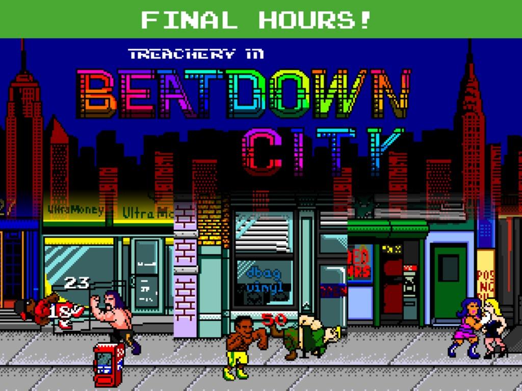Treachery in Beatdown City: A tactical brawler!'s video poster