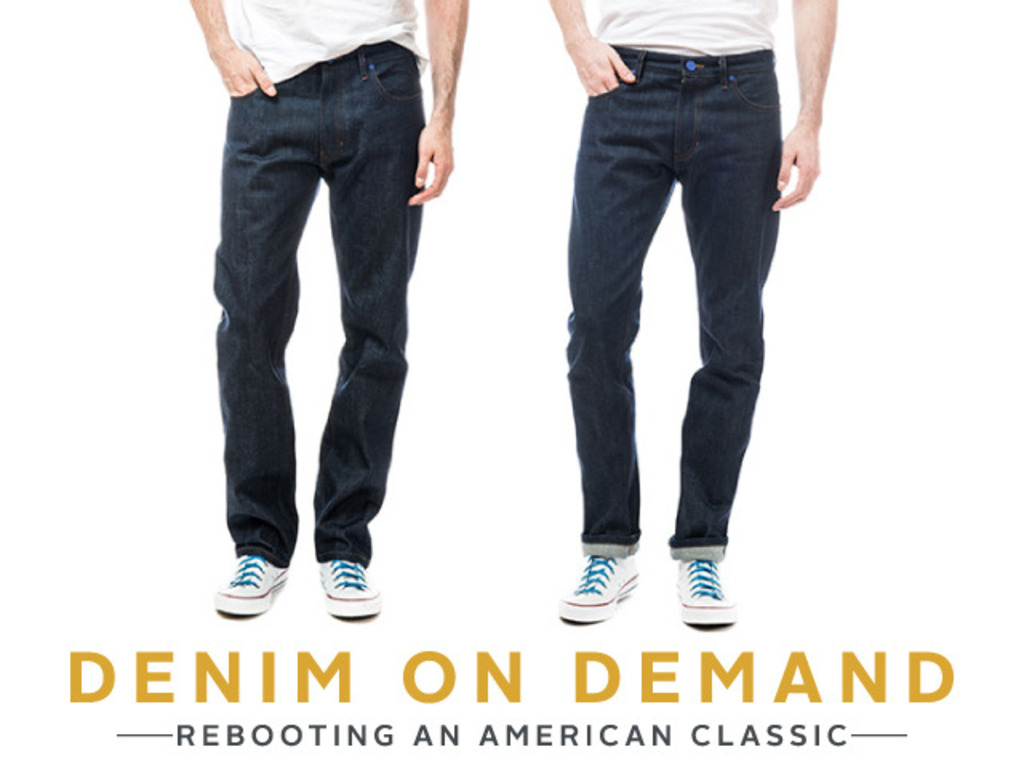 Denim on Demand: Premium jeans made to order for just $98!'s video poster