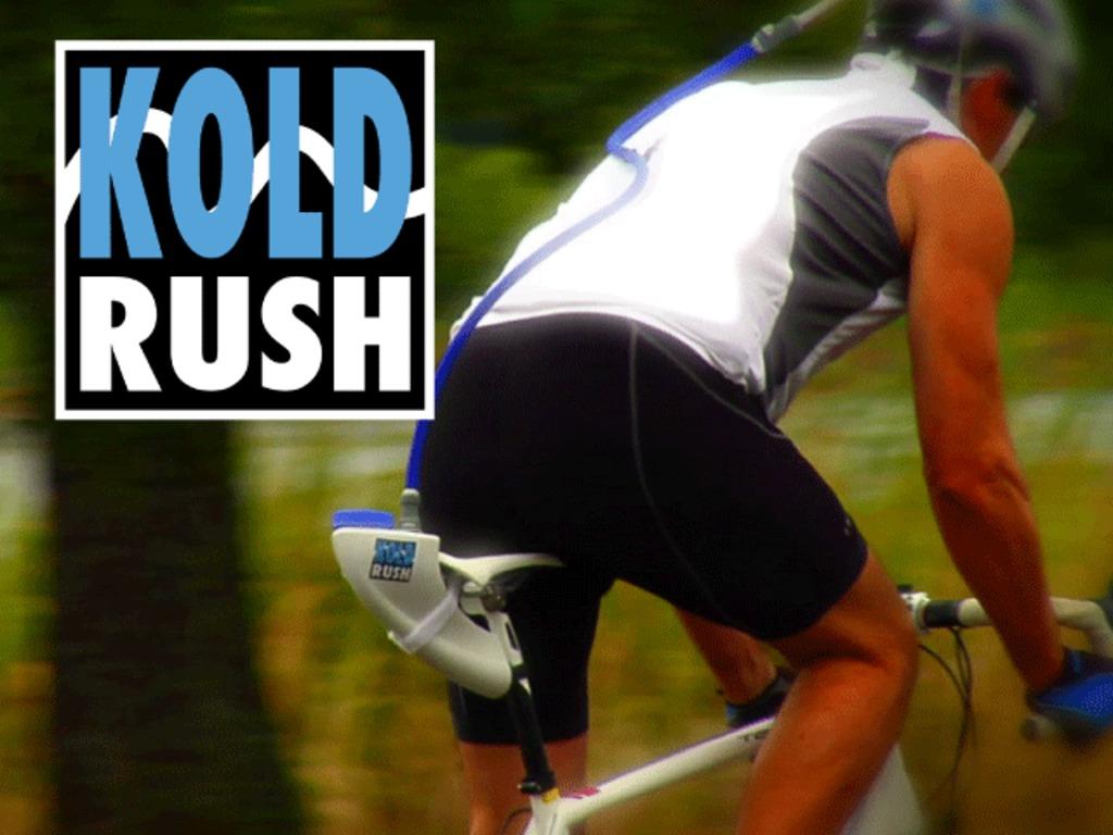 KoldRush: Bike Helmet Accessory to Keep Cyclists Cool's video poster