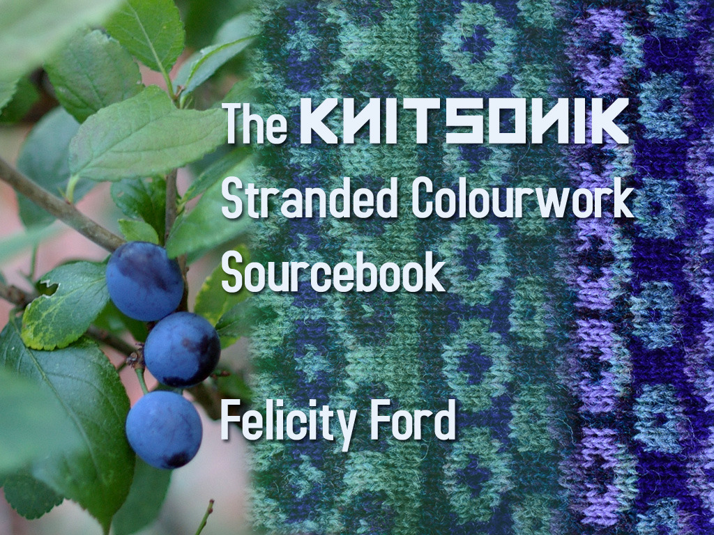 The KNITSONIK Stranded Colourwork Sourcebook's video poster